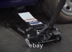 Eastwood 3 Ton Low Profile Heavy Duty Steel Floor Jack with Lower Upper Handle