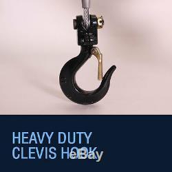 Electric Crane Hoist, 12v Portable Deer Lift, 3000lb Rhino Winch over 1 Ton Lift