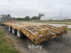 Evaco 25 Ton Triple Axle Pintle Hitch Trailer (Heavy Duty)