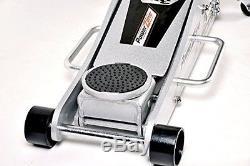 Floor Jack 3 Ton Aluminum Heavy Duty Steel Hydraulic Quick Lift Garage Car Shop