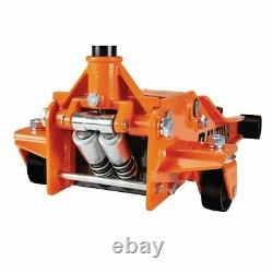 Floor Jack 3 Ton Heavy Duty Steel Ultra Low Profile Rapid Pump Car Lowrider