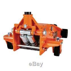 Floor Jack 3 ton Steel Heavy Duty Floor Jack with Rapid Pump Orange Daytona