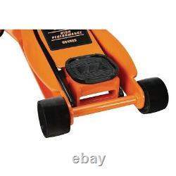Floor Jack 4 Ton Heavy Duty Steel Ultra Low Profile Rapid Pump Car Lowrider