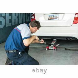 Floor Jack Service Aluminum 3 Ton Heavy Duty Steel Low Profile Rapid Pump Car