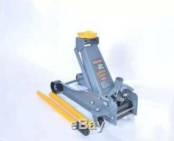Floor Jack Service Heavy Duty Steel Low Arcan Profile Rapid Pump Car 3 Ton USA
