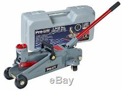 Floor Jack Ton 3 Hydraulic Heavy Duty Steel handle Trolley Profile Lift and Cas
