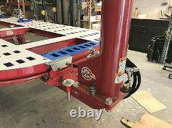 Frame Machine Auto Body In Stock And Ready 4 Tower 10 Ton 20 Feet Long USA Made