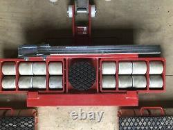 GKS. Industrial Heavy Duty Rigging Transport/Dolly System. 36 Tons