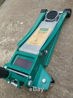 HUAQI 3 TON Low Profile Garage Trolley Jack Professional Heavy Duty