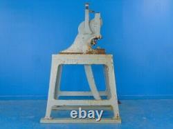 H. J Ruesch Type 7-Ton Heavy Duty Foot Stamping Kick Press, NO 7, Jewelry