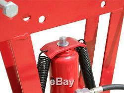 Heavy Duty 12Ton Air Hydraulic Pipe Tube Bender 6 Dies Bending Metal Fabrication
