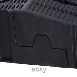 Heavy Duty 2.5 Ton Plastic Car Lifting Ramps Automotive Vehicle Garage 1 Pair