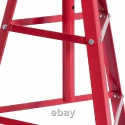 Heavy Duty 2 Ton Under Hoist Tripod Jack Adjustable Height 48.5- 84