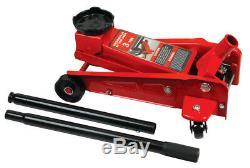 Heavy Duty 3 Ton Hydraulic Floor Jack Car Van Jeep Lift Trolley Jack 3000kg