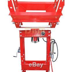 Heavy Duty 45 Ton Air Hydraulic Floor Shop Press with Guage
