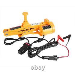 Heavy Duty Auto Electric Scissor Car Lift 3 Ton 1/2 Impact Wrench 12V DC