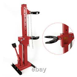 Heavy Duty Auto Strut Coil Spring Compressor 3Ton Air Hydraulic Disassemble Tool