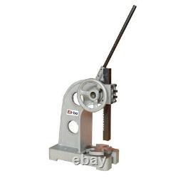 Heavy Duty Ratcheting Arbor Press 3 Ton 12 Height Manual Ratch Wheel