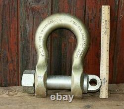 Heavy Duty Recovery Shackle Weighs 11 kg Commercial Vehicle WLL 50 Ton