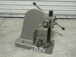 Heavy Duty Single Leverage Arbor Press 2 Ton Max. Pressure 8-1/2 x 12 Capacity