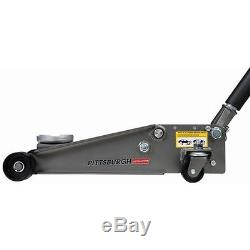 Heavy Duty Steel Ultra LOW PROFILE Floor Jack Rapid Pump Show Car Lowrider 3 Ton