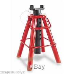 Heavy Duty Truck 10 Ton Pin Type Jack Stand For AG Heavy Equipment INT3309A
