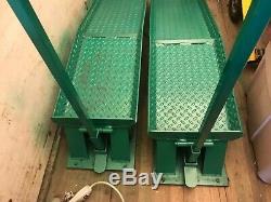Heavy duty Emerson 20 ton truck ramps