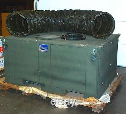 Heavy-duty Portable Air Conditioner 4 ton 54,000 BTU cooling/32,000 BTU heating