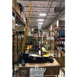 Hein-Werner Blue Heavy Duty Service Jack 3 Ton Capacity HW93652