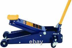 Hein-Werner HW93652 Blue Heavy Duty Service Jack 3 Ton Capacity #4697