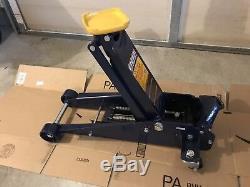 Hein Werner Heavy-Duty Hydraulic Service Jack 3 Ton Capacity 4 23 HW93652