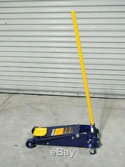 Hein Werner Heavy Duty Hydraulic Service Jack 3 Ton Lift Capacity HW93652