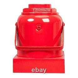 Hydraulic Industrial Steel Bottle Jack Lift Big Red 50 Ton Capacity Heavy Duty