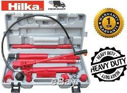 Hydraulic Power Car Van Jack Body Frame Repair Kit Auto Car Tool 10 ton HILKA