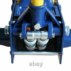 Hydraulic Service Jack Steel Heavy duty 3 Ton Floor Jack, with Double Pump Quick