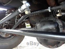 JEEP XJ MJ ZJ TJ LJ Crossover 1 TON steering kit with steering stabilizer bracket