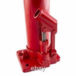 Jack 8 Ton Capacity Flat Bottom Heavy Duty Long Stroke Bottle Jack SUN5081B