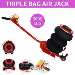 Jack Lift Pneumatic Triple Bag Air Jack 3 Ton Car Jack Lift Jack Heavy Duty