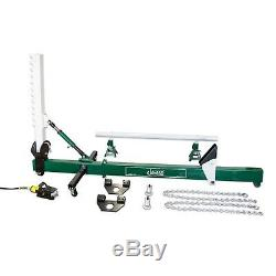 Jackco 10 Ton Auto Body Frame Straightener Swivel Type with Air Hydraulic Pump