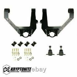 Kryptonite Upper Control Arm Kit For 2007-2018 Chevy/GMC 6 Lug Half Ton Trucks