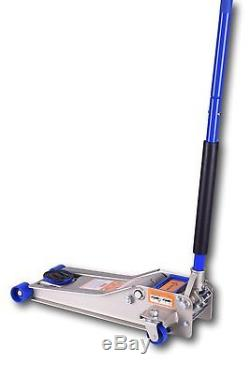 Liftmaster 3 Ton Heavy Duty Ultra Low Profile Steel Floor Jack with Quick Lift