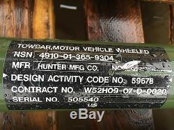 Military Truck Tow Bar Towbar M35a2 M923 M151a1 M54 6x6 4x4 5 Ton Heavy Duty