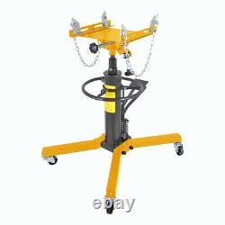 NEW 0.5 Ton Professional Vertical Hydraulic Transmission Gearbox Jack 1100LB
