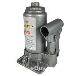 NEW Hydraulic Bottle Jack 4 Ton Capacity 7 1/2in. 14 5/8in Lift Range HEAVY DUTY