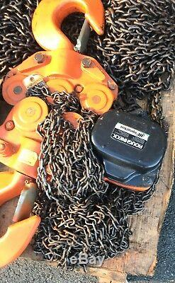 NOS Ingersoll Rand VL2-150 IR Lever 15 Ton Chain Hoist Roughneck HEAVY DUTY