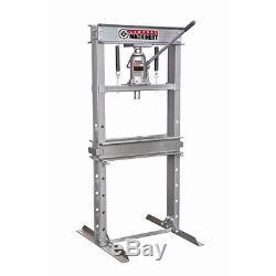 New 20 Ton Hydraulic Heavy Duty Floor Shop Press