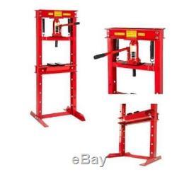 New Heavy Duty BottleJack 12 Ton Workshop Press Garage Shop Floor Standing Press