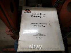 Nuigier 100 ton hydraulic press Heavy Duty