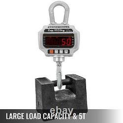 OCS-T 10,000 LB Heavy Duty Digital Crane Hanging Scale Overhead with Remote 5 Tons