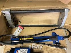 OTC Heavy Duty Hydraulic Hollow Center Cylinder 30-Ton King Pin Pusher Set 4121A